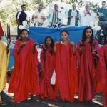 Celebrazione in un villaggio