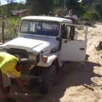 Le strade della missione a Taboca
