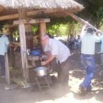 Torchio per la spremitura del succo di canna da zucchero a Panela