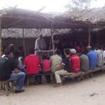 Messa nel villaggio Macacos in Alto Parnaiba